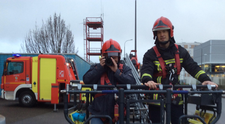 rencontre un pompier